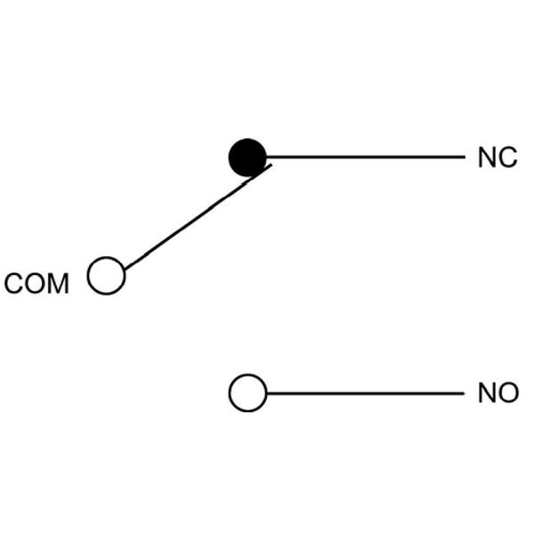 Schemat styku przełącznego