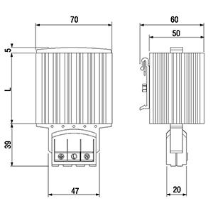 Wymiary grzejników szaf elektrycznych
