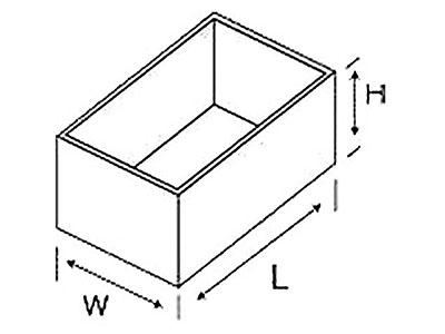 Wymiary montażu konektora
